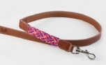 Buddys Dogwear Smiley Pink dog lead