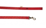Buddys Dogwear Stars Red dog lead