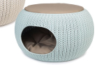 Curver Cozy Pet Home, hellblau