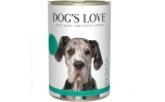 DOGS LOVE Nassfutter Ente mit Topinambur & Karotten