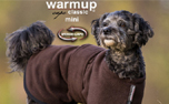 DRYUP Warmup-Cape CLASSIC Mini Hundemantel, brown