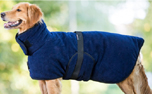 DRYUP Warmup-Cape PLUS Hundemantel, dark blue
