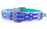 DWAM Dog With A Mission Hundehalsband Blue