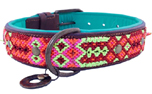 DWAM Dog with a mission Leder Hundehalsband Gypsy Taj Mahal