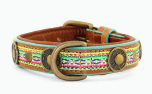 DWAM Dog with a mission Leder Hundehalsband Summer Mellow