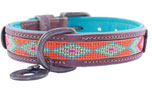 DWAM Dog with a mission Leder Hundehalsband Tiger Lilly