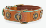 DWAM Dog with a mission Leder Hundehalsband Urban