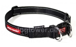 Ezydog Double Up Hundehalsband, schwarz
