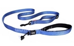 Ezydog Hundeleine Soft Trainer Traffic Control, blau