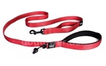 Ezydog Hundeleine Soft Trainer Traffic Control, rot