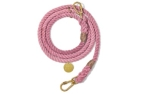 Found My Animal Blush Cotton Rope verstellbare Hundeleine