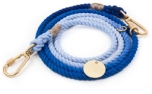 Found My Animal Latty Blue Ombre Cotton Rope verstellbare Hundeleine