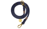 Found My Animal Navy Rope verstellbare Hundeleine