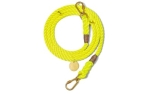 Found My Animal Neon Yellow Rope verstellbare Hundeleine