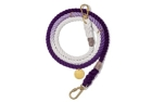 Found My Animal Purple Ombre Cotton Rope verstellbare Hundeleine