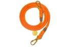 Found My Animal Rescue Orange Rope verstellbare Hundeleine