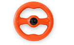 Freezack Floating Ring Hundespielzeug, orange