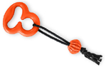 Freezack Floating Ring MIT Seil und Ball, orange