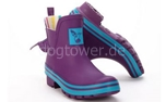 Ankle Wellie Evercreatures Eggplant