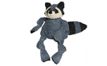 Hugglehounds Knottie Bo the Raccoon with Tuffut Technology