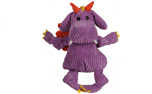 Hugglehounds Knottie Puff The Dragon with Tuffut Technology