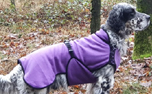 Thermo-Fleece Hundemantel IQO XW, lila