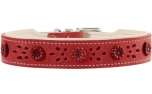 Hunter Halsband Virginia Rose, rot/beige