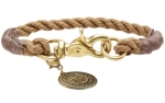 Hunter Hundehalsband List, beige