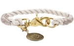 Hunter Hundehalsband List, creme