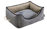 Hunter Hundesofa List grau