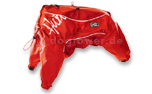 Hurtta Hundeoverall Outdoor, rot