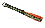 Hurtta Lifeguard Halsband Half Choke, orange/gelb