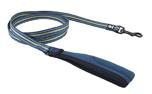 Hurtta Soft Grip Reflective Leash, petrol