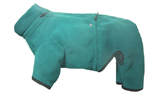iqo Thermo-Fleece Hundeoverall, petrol