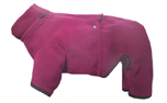 iqo VXf Softshell (Softface) Hundeoverall, cranberry/granit