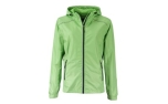 James & Nicholson Damen Regenjacke, spring-green/navy