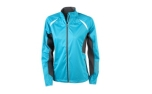 James & Nicholson Damen Softshell-Windjacke, turquoise/carbon