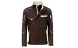 James & Nicholson Softshell Workwear Jacket, brown/stone