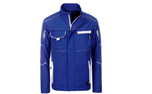 James & Nicholson Softshell Workwear Jacket, royal/white