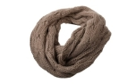 James & Nicholson Zopfmuster Loopschal, taupe