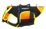 Julius K9 IDC multifunktionale Hundeweste 3 in 1, neon