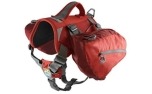 Kurgo Baxter Backpack Hunderucksack, chili/barn red