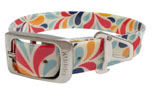 Kurgo Muck Dog Collar Hundehalsband, color splash