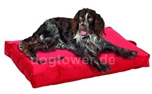 Teflon Hundematratze NO LIMIT, rot