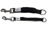 Long Paws Bungee Leash Extender Hundeleine, schwarz