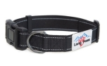 Long Paws Hundehalsband Urban Trek Collar, schwarz