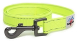 Long Paws Hundeleine Urban Trek Webbing Leash, neongelb