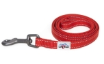Long Paws Hundeleine Urban Trek Webbing Leash, rot
