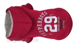 Milk & Pepper Hundepullover Hoody Dakota, rot