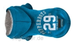 Milk & Pepper Hundepullover Hoody Dakota, t�rkis